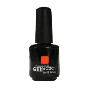 JESSICA GELERATION Lac semi-permanent Soak-Off Confident Coral Gel