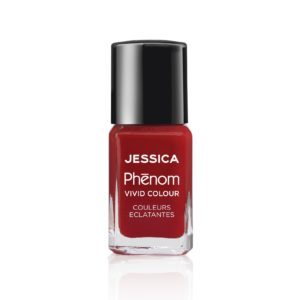 JESSICA PHENOM VIVID COLOUR Lac de unghii Jessica Red