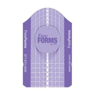 OPI Tipare fara forma pentru extensia unghiilor 50 buc/set