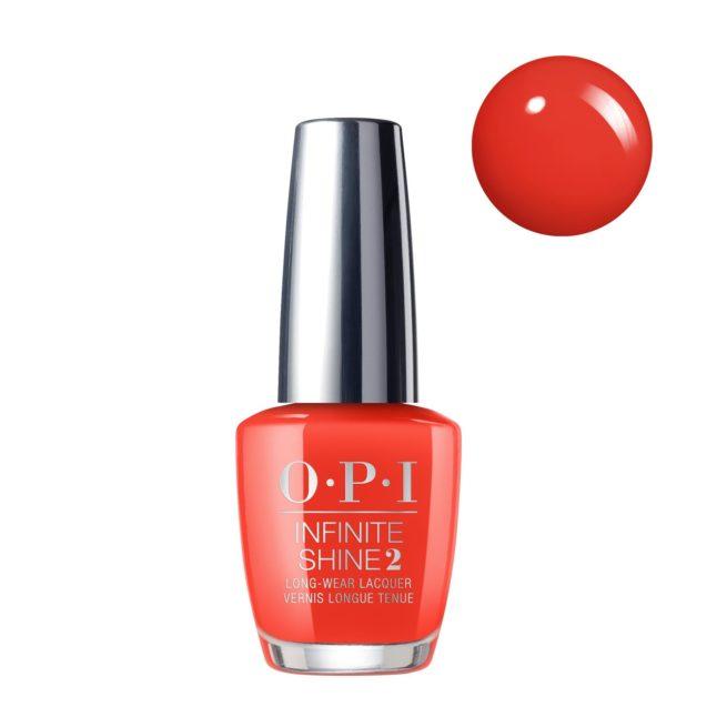 OPI INFINITE SHINE - LISBON A Red-vival City 15ml