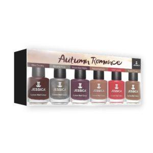 JESSICA AutumnRomance 6 ShadesPrePack Box 6*14.8ml